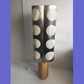 Abstract Sculptural Table Lamp